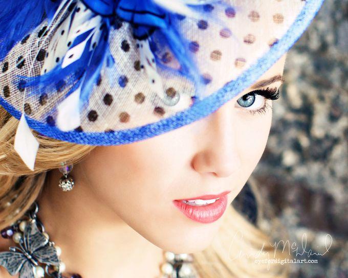 PeekABoo Blue by CMcDaniel - Hats Photo Contest