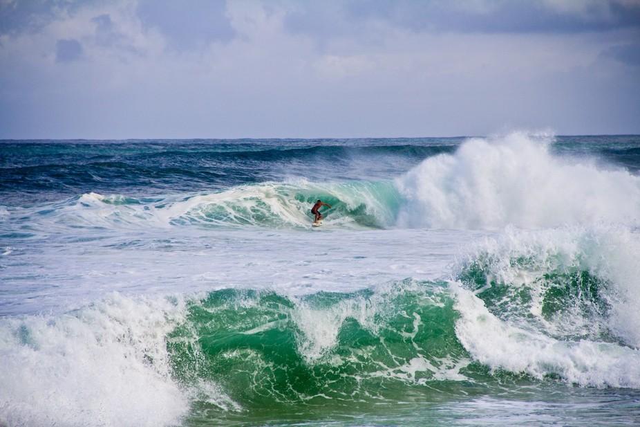 North Shore surfing