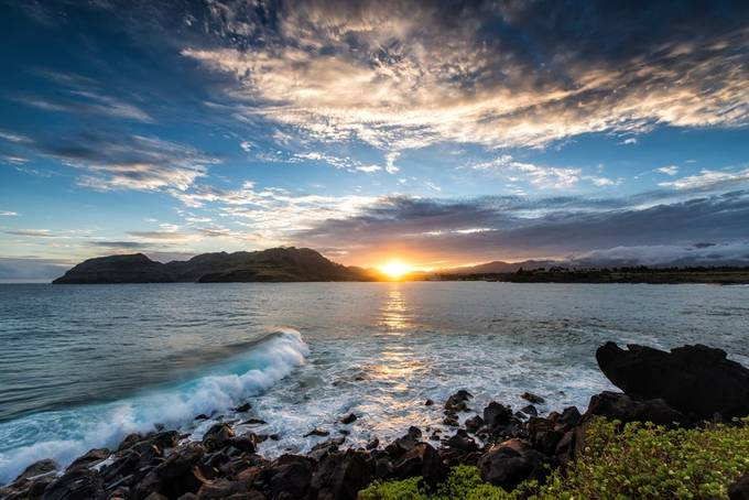 Nawiliwili Harbor Sunset by BensViewfinder - Discover Oceania Photo Contest