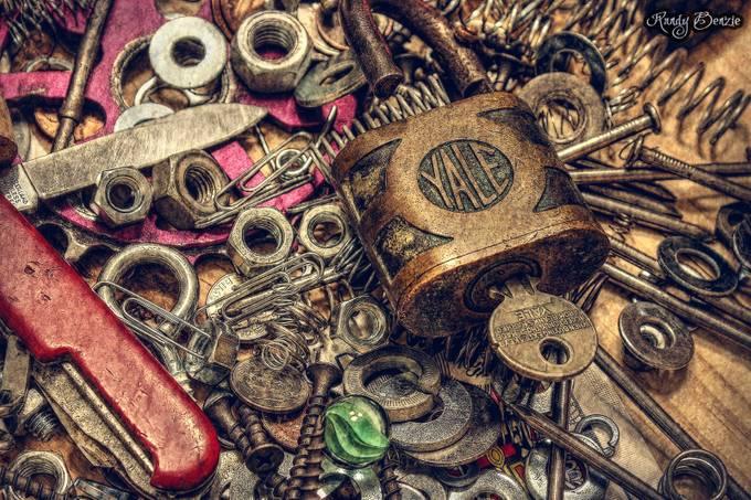 Junk Drawer - Redux by randybenzie - Metallic Matter Photo Contest