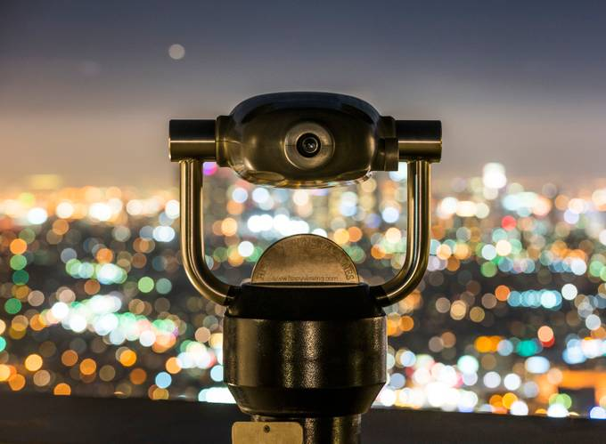 LA lights by jasongerard - Night And Bokeh Photo Contest