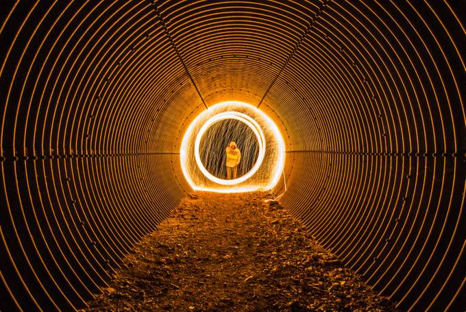 Into the Tunnel  by coltonelliott - Within A Frame Photo Contest