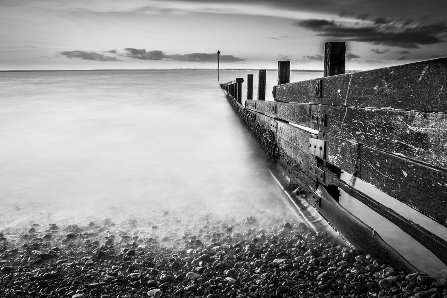 A 40 second exposure of the Colwell Bay beach using a ND1000 Filter
