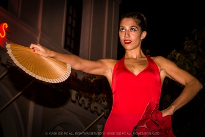Flamenco night....