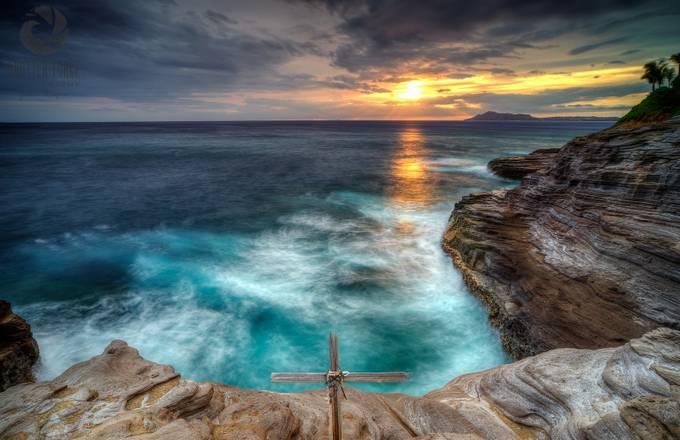 crosssunset (1 of 1) by jamesbrogan - Light On Water Photo Contest