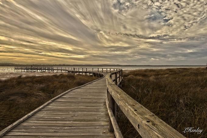 HDR boardwalk  by Lis123 - Boardwalks Photo Contest