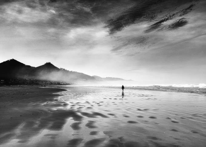 Walking the Strand by kathykuhn100 - Isolated Photo Contest