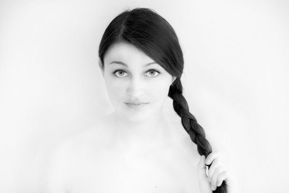 Overexposed Portrait of my friend.