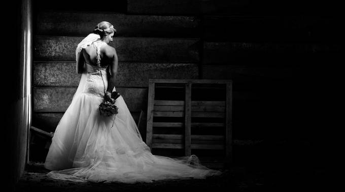 Lovely bride by MortezaJafari - Candid Wedding Moments Photo Contest
