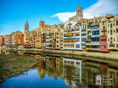 Girona Cathedral side - Girona lado de la Catedral