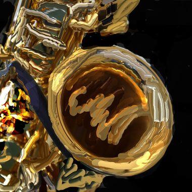 saxophone altered