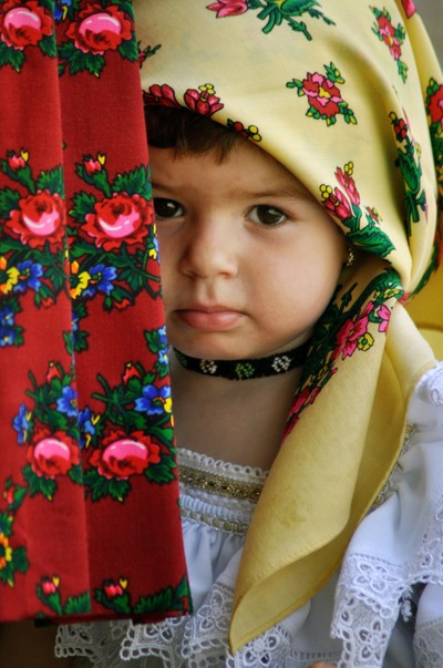 Child in traditional dress
