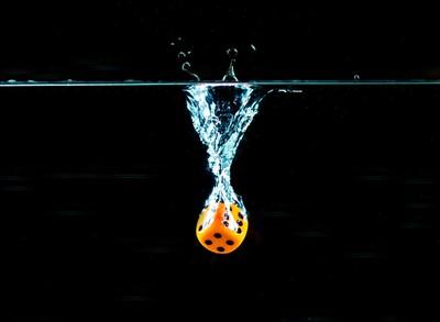 swirling dice