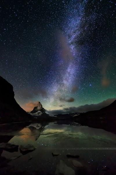 Milky Way over Matterhorn