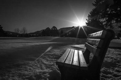 Moonrise Bench