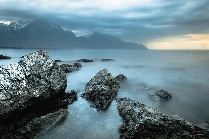 Lake Léman  by Y_C_Photography - Rugged Landscapes Photo Contest
