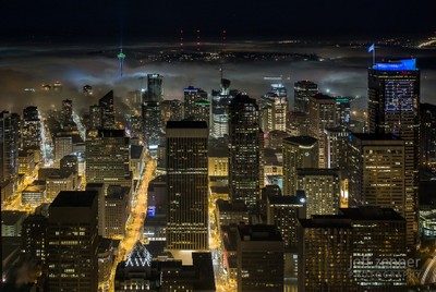Fog Settles into the City!