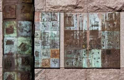 Detail from the Franklin Delano Roosevelt Memorial