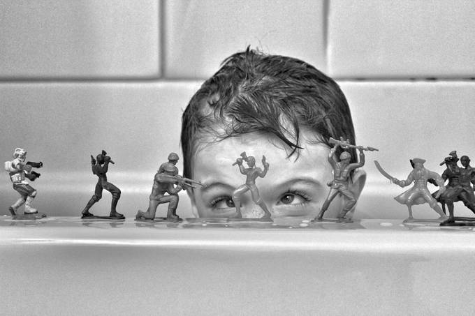 Army Men by esalamone - Innocence Photo Contest