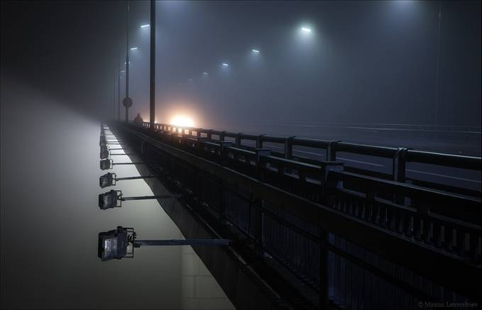 Alone by maximletovaltsev - Mist And Drizzle Photo Contest