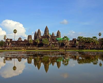 Reflection on Angkor Wat