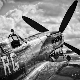 The Spitfire on display at Avalon in 2015 is one of two flying Spitfire's in Australia. The beautiful lines of this incredible aircraft, along wi...