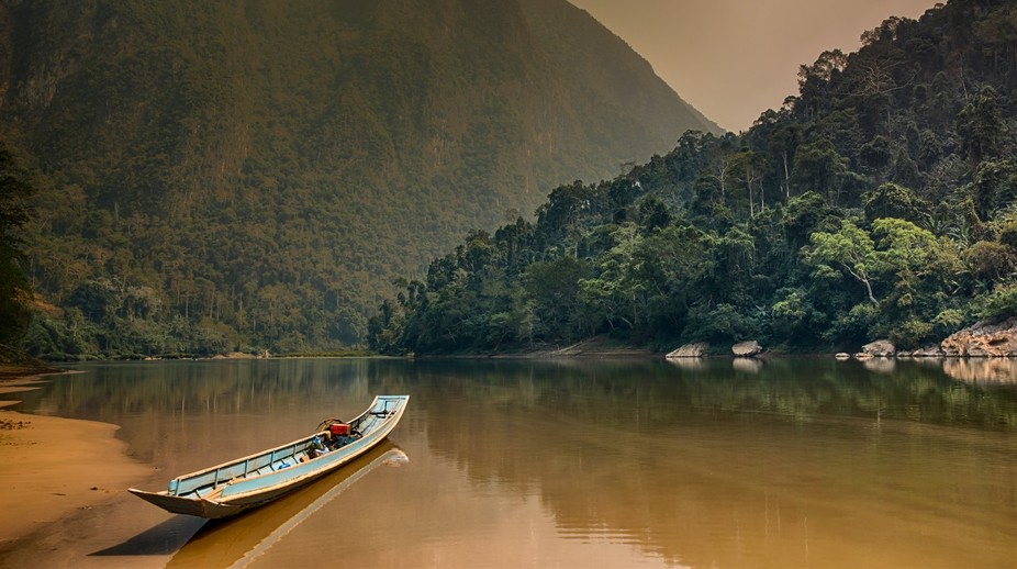 4 days travelling along the Nam Ou river in Muang Noi, Northern Laos was a magical experience we&...
