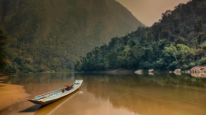 Muang Noi, Laos by timpryce