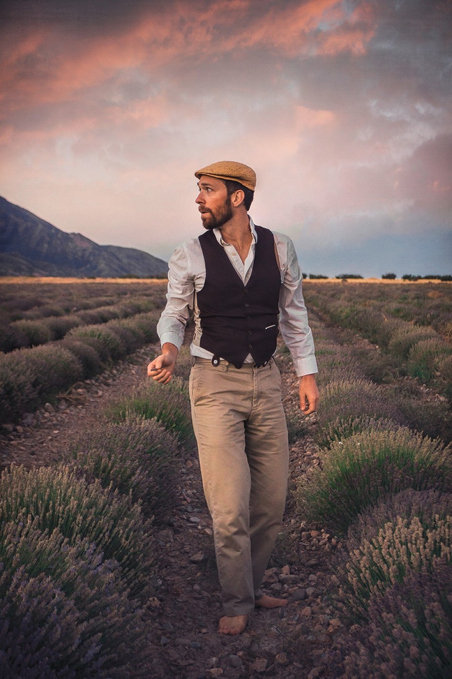 The Lavender Farmer by talynsherer - Environmental Portraits Photo Contest