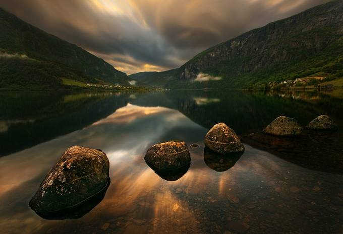 Five... by kbrowko - Boulders And Rocks Photo Contest