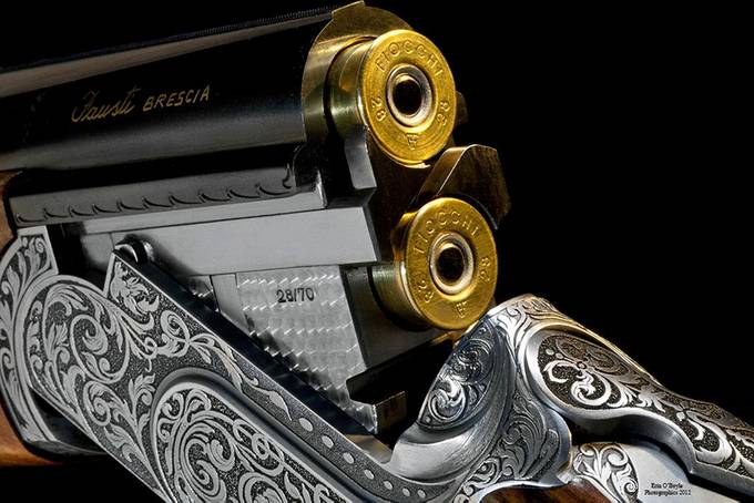 Fausti 28 Guage Shotgun by elob - Metallic Matter Photo Contest