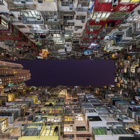 Hong Kong's residential areas can be packed! I took this with my A7 II + Samyang 14mm f2.8.   www.albertdros.com www.facebook.com/albertdrosphoto...