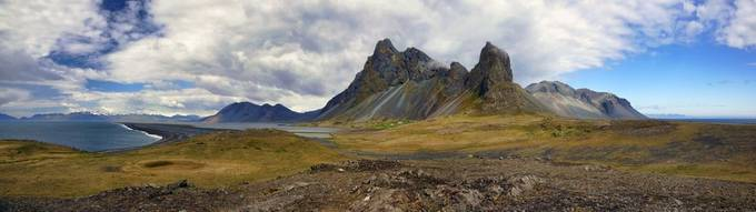Hvalnes Panorama by Clipper24 - Rugged Landscapes Photo Contest