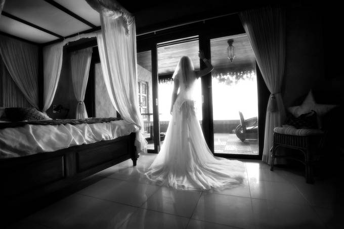Waiting for the moment by JudiLiosatos - Beautiful Brides Photo Contest