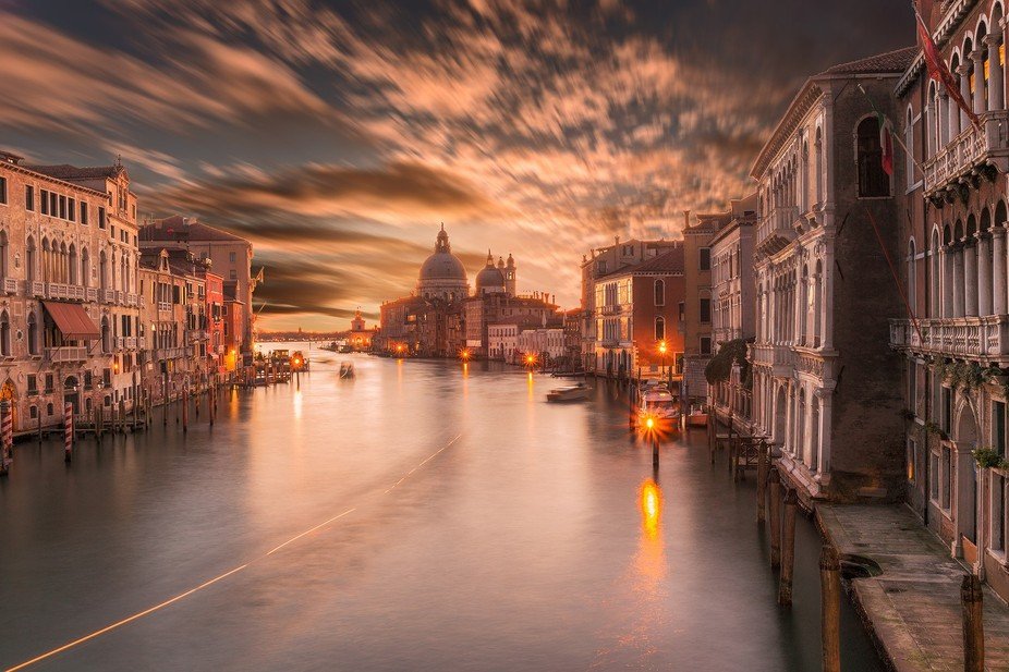 Taken from ponte dell\'accademia, Venice, Italy