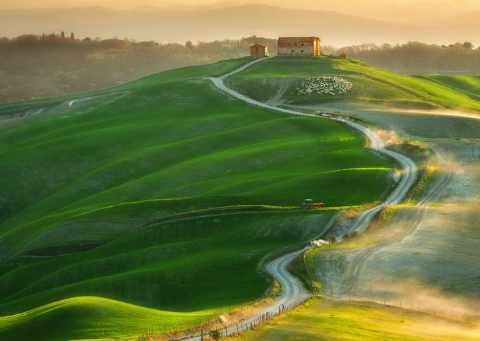Road... by kbrowko - Country Roads Photo Contest