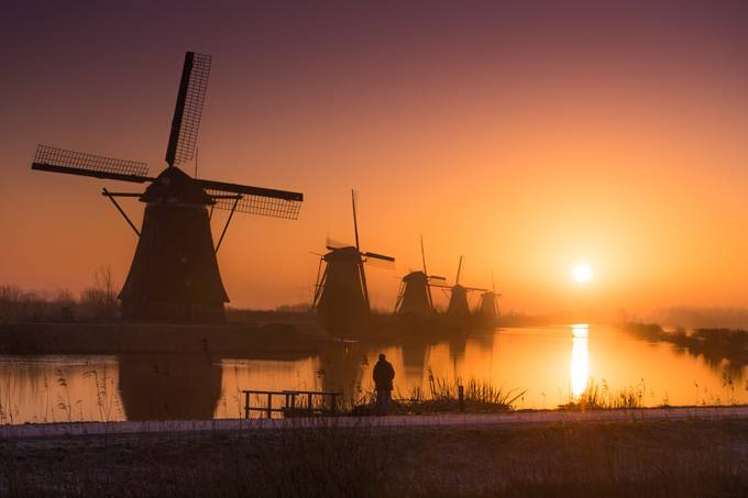 Dreamy Dutch Sunrise by albertdros - Adventure Land Photo Contest Outside Views