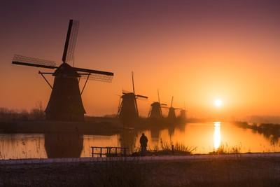 Dreamy Dutch Sunrise