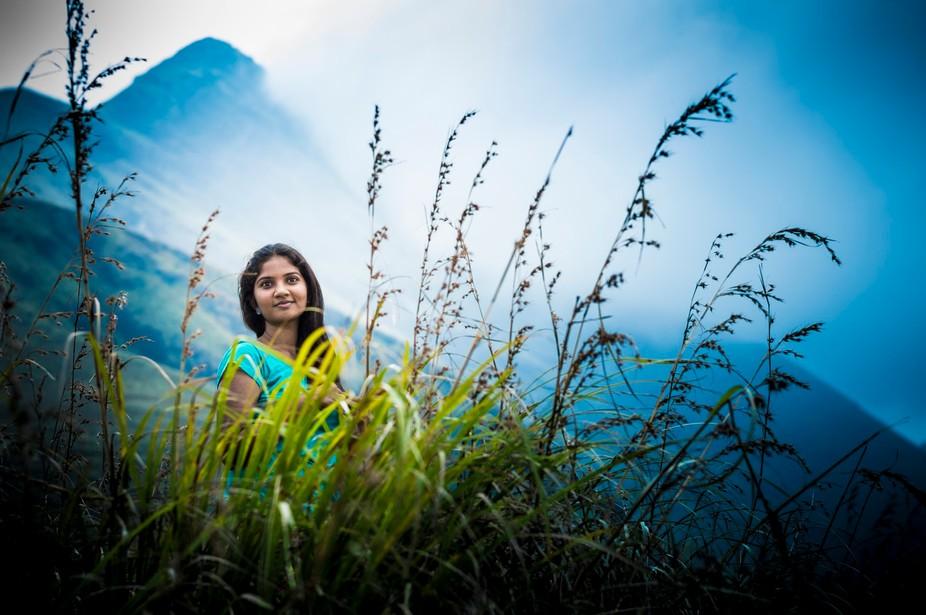 Chembara peak. in the top of the hills . Taken in india.