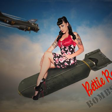 Bettie Rage.Pin up model from New Zealand