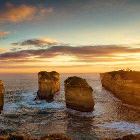 This is the same image I recently uploaded called Sunset over Loch Ard Gorge. I uploaded this one to show with a Topaz effect used can make the s...