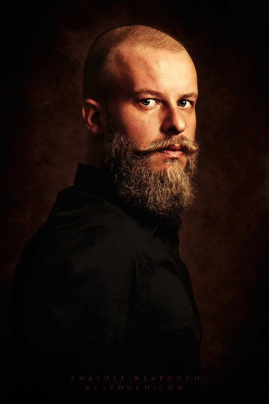 Self-portrait by klapouch - Beards and Mustaches Photo Contest