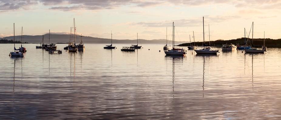 Oak Bay Marina @ Sunrise
