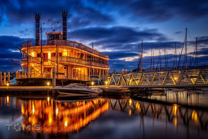 "Sternwheeler ""Bahia Belle"" by tomgessner - Ships And Boats Photo Contest"