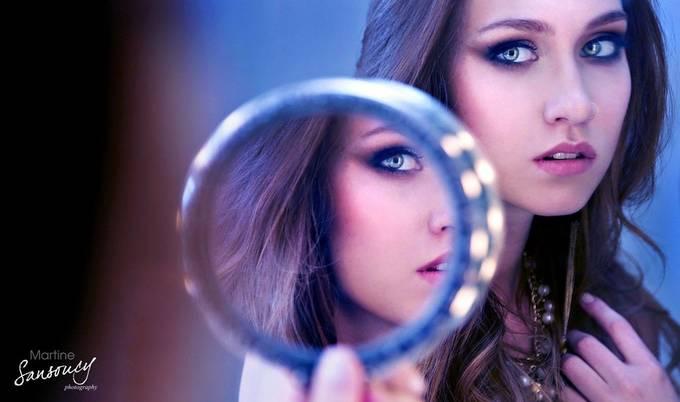 Self Reflection - Self Perception  by martinesansoucy