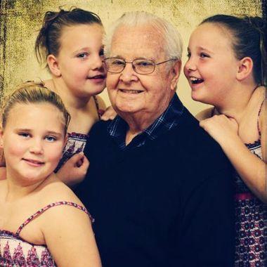Telling Grandpa secrets