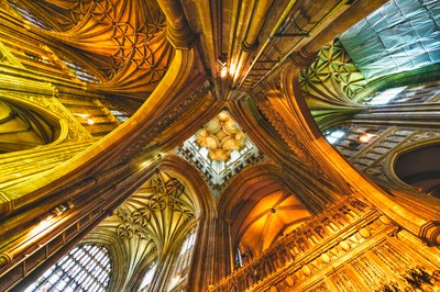 Ceiling of Canterbury Cathedral_DSC8300
