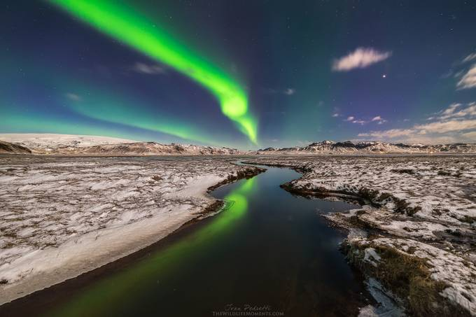 Northern lights lagoon by wildlifemoments - Long Exposure In Nature Photo Contest