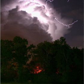 Lightning display October 2014