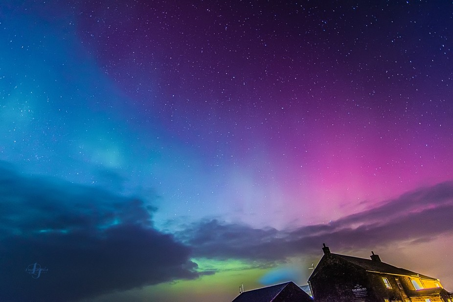 Magnificent Northern lights display